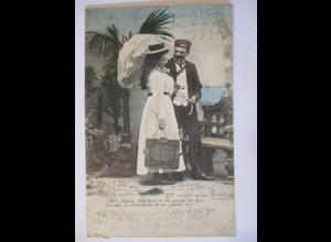 Studentika, Mein Fräulein, diese Bank ist gemacht für zwei, 1903