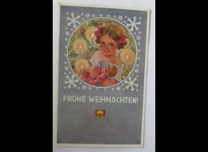 Weihnachten, Deutscher Schulverein Nr. 61, Kinder, Puppe, Bescherung,1903♥(3183)