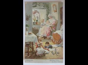 Schillers Glocke, Nr. 6, Und drinnen waltet,1909, H. Kaufmann ♥ (46972)