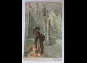 Schillers Glocke, Nr.10, Schwarz bedecket sich die Erde,1909,H. Kaufmann♥(46854)