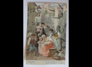 Schillers Glocke, Nr. 7, Er zählt die Häupter, 1909, H. Kaufmann ♥ (17252)