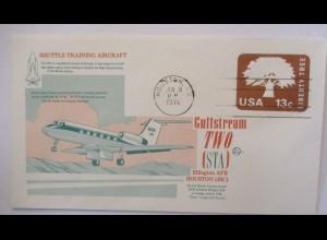 Raumfahrt USA NASA Space Shuttle Training Aircraft Gulfstream TWO 1976 (22977)