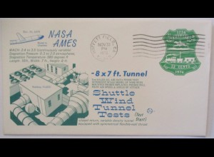 Raumfahrt USA NASA Space Shuttle Wind Tunnel Test Moffett Field 1976 (14870)