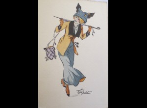"""Frauen, Mode, Hutmode"" 1903 ♥ (24573)"