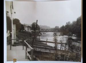 Stift Melk, Schiffsanlegestelle, original Foto 1981 (26602)