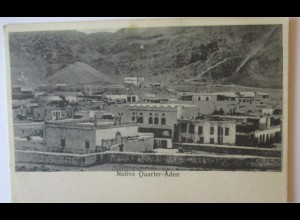 Aden, Native Quarter, Hotel de l´Europe Turkish Shop I. Benghiat Son (15203)