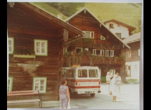 Dienten am Hochkönig, Haus Hotel, Foto 1979 (2260)