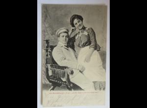 Studentika, Alt-Heidelberg, Käthi, heute wollen wir lustig sein,1903 ♥ (22869)