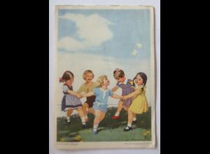 Kinder, Mode, Indanthren-Reigen, Reklame, 1949 ♥ (66213)