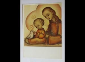 Hummel, Weihnachten, Du liebliche Mutter, Nr. 14391, 1950 ♥ (26653)