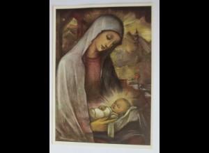 Hummel, Weihnachten, Heilige, Maria, Jesus, Nr. 14174 1950 ♥ (20658)