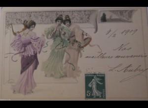 """""""Frauen, Mode, Jugendstil"""" 1901 ♥ (24557)"""