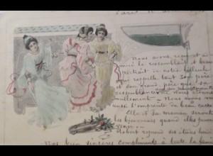 """""""Frauen, Mode, Jugendstil"""" 1901 ♥ (24556)"""