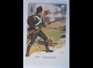 Neuenegg, Der Schweizer Soldat im Laufe der Jahrhunderte 1918 ♥ (7859)