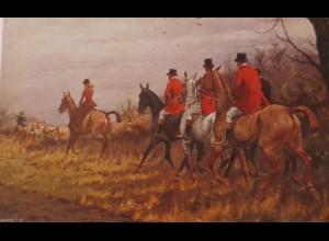"""""""Frauen, Pferde, Treibjacht"""" 1901, Munk Vienne ♥ (24545)"""