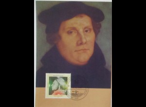 Religion Reformation Martin Luther Maximumkarte Fidacos (28006)