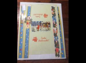Weihnachten, Basteln, Zwerge und Engel, Weihnachts-Motive, 1950 ♥ (54)
