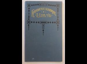 Metzger, Handwerkskammer Ulm Biberach Gesellen Prüfung 1895 ♥(64639)