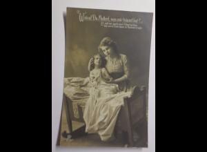 """Kinder, Frauen, Mode, Beten, Träume"" 1909 ♥"