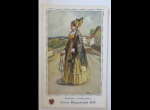 Deutscher Schulverein Nr. 871, Oberösterr. Trachtenbilder, 1915 ♥ (4911)