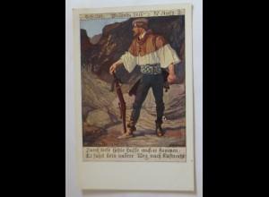 Deutscher Schulverein Nr.618. Schiller, Wilhelm Tell 1915 ♥ (9229)