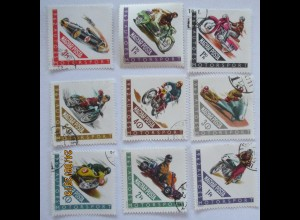 Ungarn 1889-1997 Motorsport gestempelt (39662)