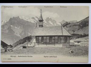 Mürren, Katholische Kirche 1907 (70420)