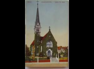 Bern Johanneskirche 1913 mit Portomarke (53823)