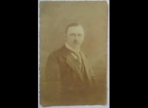 Lothringen, Junger Mann, Fotokarte Photo Bensemann Metz 1917 (533)