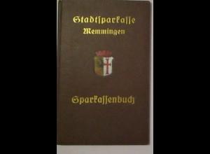 Sparkassenbuch Stadtsparkasse Memmingen 1939-1948 (72483)