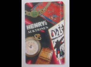 Telefonkarten Reklame Henrys Auktionen Kunst Schmuck ♥ (19005)