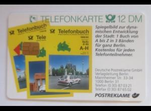 Telefonkarten Reklame Telefonbuch Deutsche Post ♥ (1663)
