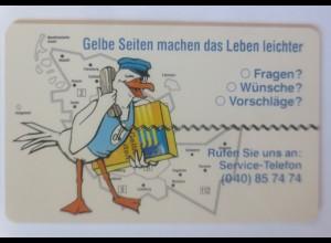 Telefonkarten Reklame Gelbe Seiten machen das Leben leicht ♥ (67334)