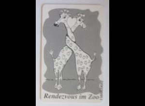 Telefonkarten Reklame Rendezvous im Zoo Duisburg ♥ (11903)