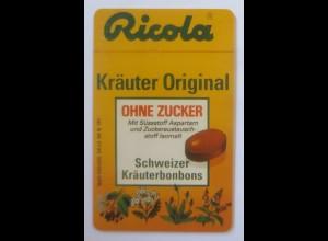 Telefonkarten Reklame Ricola Kräuterbonbons Original 1993 ♥ (63403)