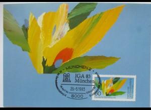 Blumen Gartenbauausstellung IGA 83 München 1983 (71518)
