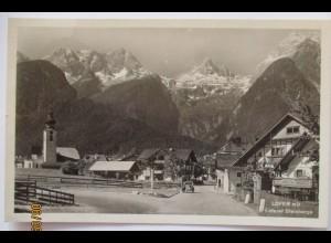 Lofer bei Salzburg, Fotokarte Verlag Gründler 1954 (9114)