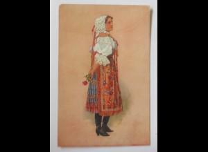 Trachten, Frauen, Mode, 1919 ♥ (43893)