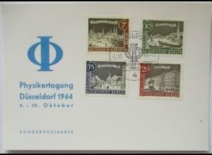 Physik Physiker-Tagung Düsseldorf 1964 Sonderkarte (19095)