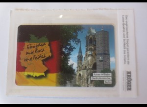 Telefonkarten Krüger Dr. Helmut Kohl Gedechtniskirche 1994♥(25062)