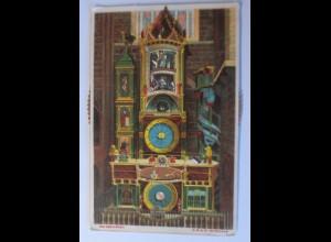 Mechanische Karte, Astronomische Münsteruhr zu Straßburg, 1899 ♥ (5994)