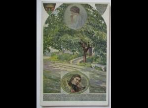 Deutscher Schulverein DSV Nr. 850 Julius Mosen, Es grünet ein Nussbaum (58498)