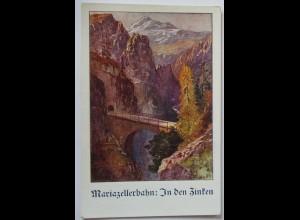 Deutscher Schulverein DSV 716 Mariazellerbahn, In den Zinken (45622)