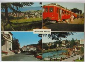 Gruß aus Heiden, Rorschach Heidebahn, Schwimmbad 1976 (27897)