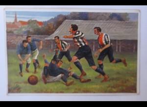 Fußball, 1907, Oilette ♥ (5983)