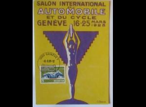Auto Salon International Geneve Sonderkarte 2005 (2860)
