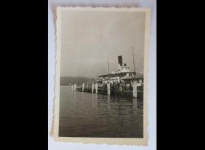 Schiffe, Hafen in Luzern Schweiz 1950 ♥ (12636)