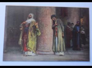 Die Heilige Schrift, Serie 8, Bild 4, Der Pharisäer, 1910,R. Leinweber ♥
