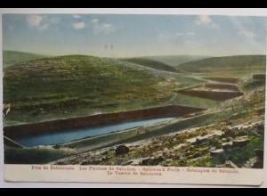Palästina Judaika, Bethlehem Fischteiche, 1928 nach Kleinlangheim (68535)