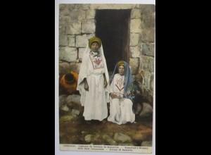 Palästina, Frauen aus Ramallah, 1928 nach Kleinlangheim (54312)